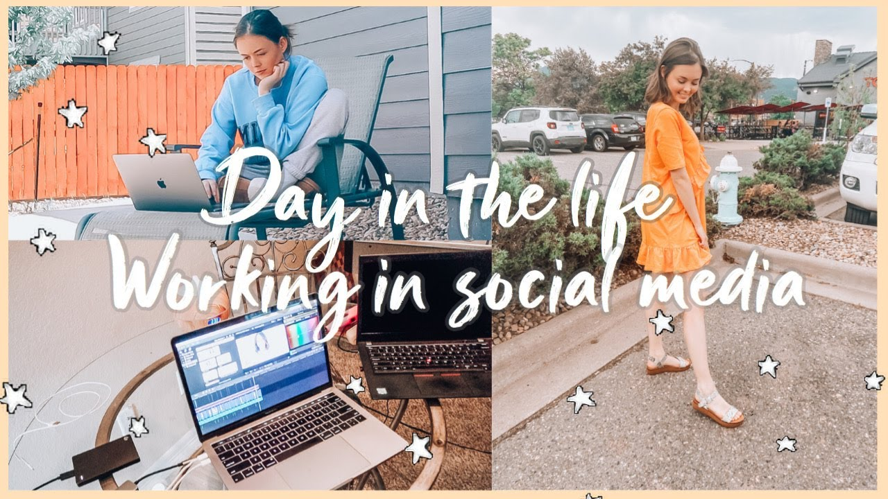 Day in my life as a social media manager! | Working in social media