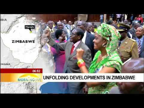 Unfolding developments in Zimbabwe