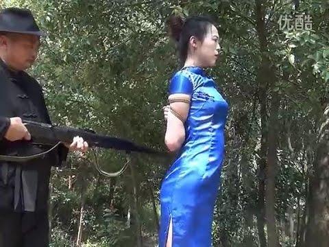 China tied up scene - bondage scene