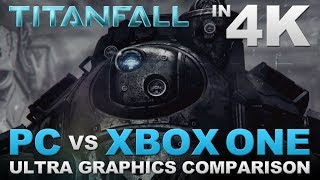 "Titanfall ""XBOX ONE vs PC"" Graphics Comparison in 4K - ""ULTRA SETTINGS"" (FULL GAME)"
