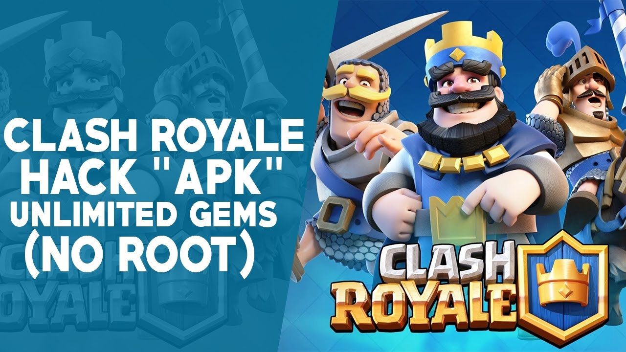 hack clash royale android apk no root