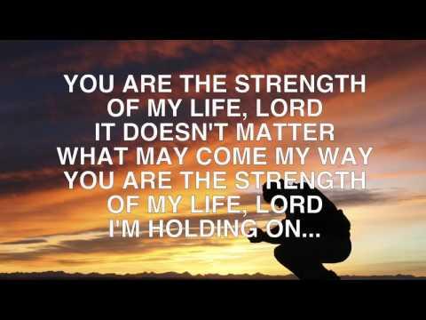 Strength Of My Life   Planetshakers Lyrics Video