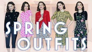 Secondhand Shopping Tips + Spring Outfit Ideas   Ingrid Nilsen