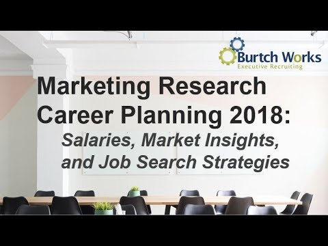 2018 Marketing Research & Consumer Insights Career Planning: Salaries, Trends, & Job Search Tips