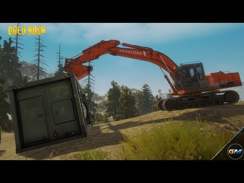 Gold Rush The Game #3 Pre Alpha Test Let's Mining Tutorial