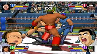 Ultimate Muscle - Legends vs New Generation 2 Player Gamecube Gameplay