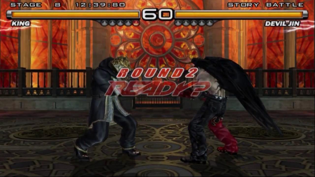Tekken 5 King Vs Devil Jin Devil S Pit Ost Youtube