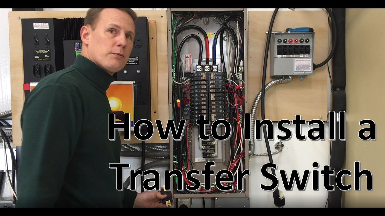 How To Install Sol Ark With Transfer Switch Youtube Wiring A