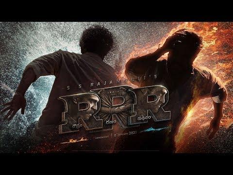 RRR Motion Poster - Telugu   NTR, Ram Charan, Ajay Devgn, Alia Bhatt, Olivia Morris   SS Rajamouli