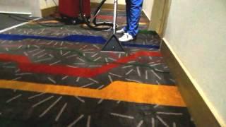 Химчистка ковролина в отеле