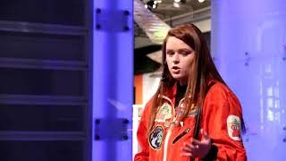 How to get more Girls in STEM: Keeley Aird, Co-founder STEM Kids Rock, at the Ontario Science Centre