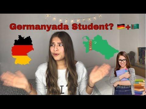 Nädip Germanyada okuwa girmeli?🤔👩🏻🎓🇩🇪 / Sonya Azadova