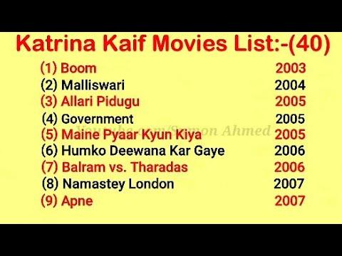 Katrina Kaif Movies List (2003-2020) | Katrina Kaif Movies ...