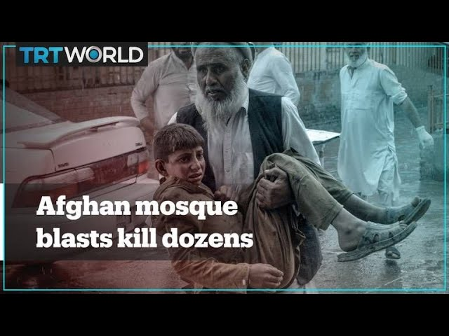 Afghanistan mosque blasts kill at least 69 people