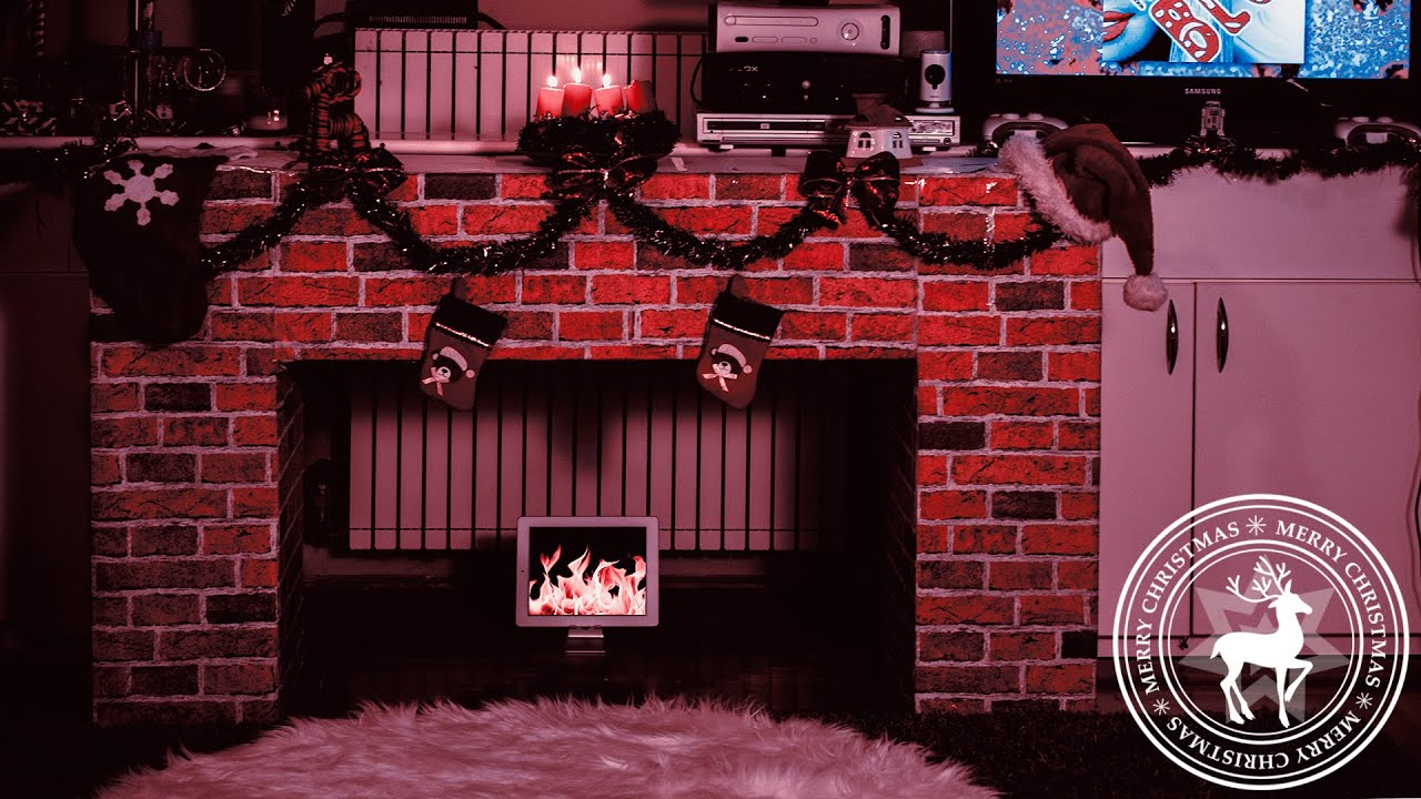 Premium Barbie Blog - DIY Christmas Fireplace 2k14' - YouTube