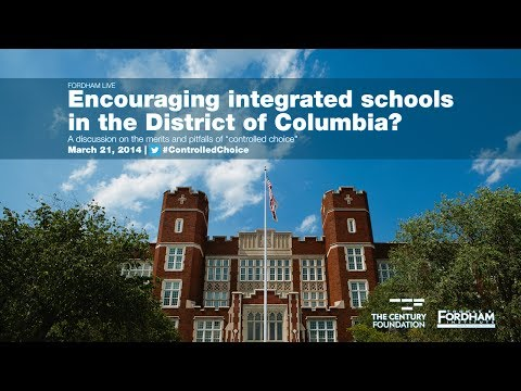 Encouraging integrated schools in the District of Columbia?