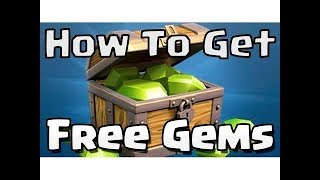 HOW TO GET FREE GEMS IN CLASH OF CLANS AND CLASH ROYALE WITH PROOF FASTEST WAY !! (IOS AND ANDROID)