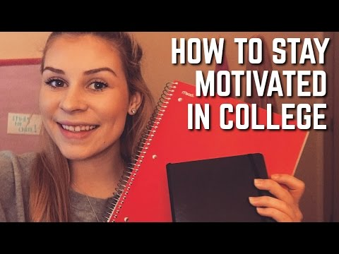 How to Stay Motivated & Organized in College + DIY Bulletin Board