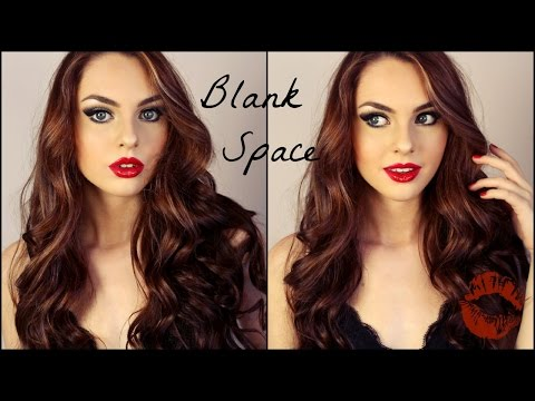 Taylor Swift Blank Space Makeup Tutorial! - Jackie Wyers