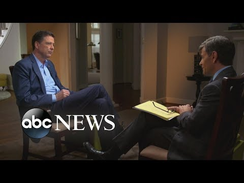 James Comey: 'It's possible' the Russians have something on President Trump