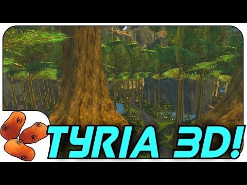Tyria3D Improved: Exploring Unreleased Maps | Lake Doric + Fortunes Vale