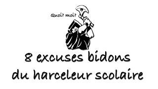 8 excuses bidons du harceleur scolaire (En bas de l'escalier) [1]