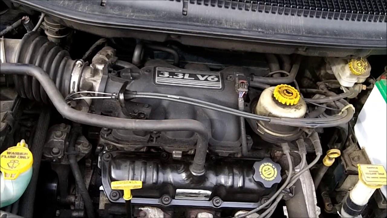 2003 Dodge Caravan Engine Noise Youtube