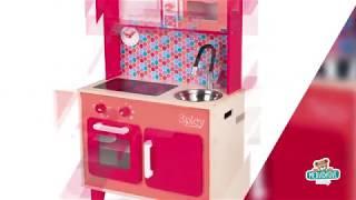 Dřevěná kuchyňka pro děti Spicy Cooker Janod od 3-