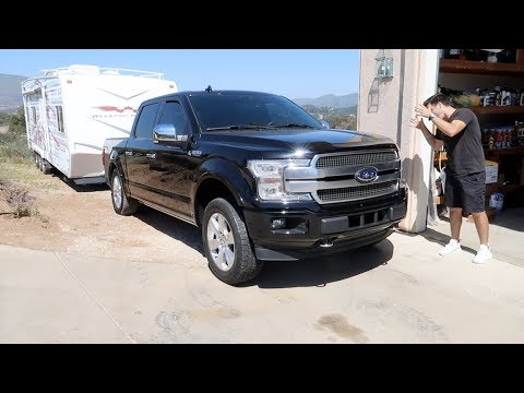 BRAND NEW 2019 F150 HITS THE WALL!!!