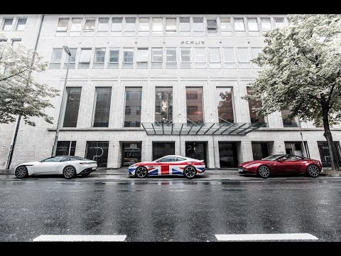 Aston Martin House of Beautiful opening in Frankfurt, Germany