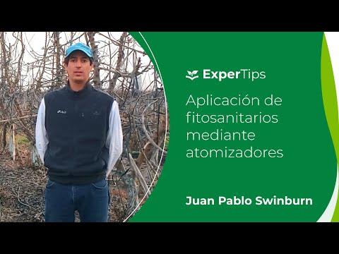 Expertips: Aplicación de fitosanitarios mediante atomizadores