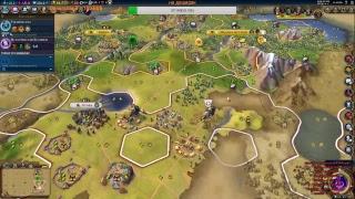 Civilization VI: Rise & Fall  ffa 6  путь ВОЙНЫ (премьера новой песни)