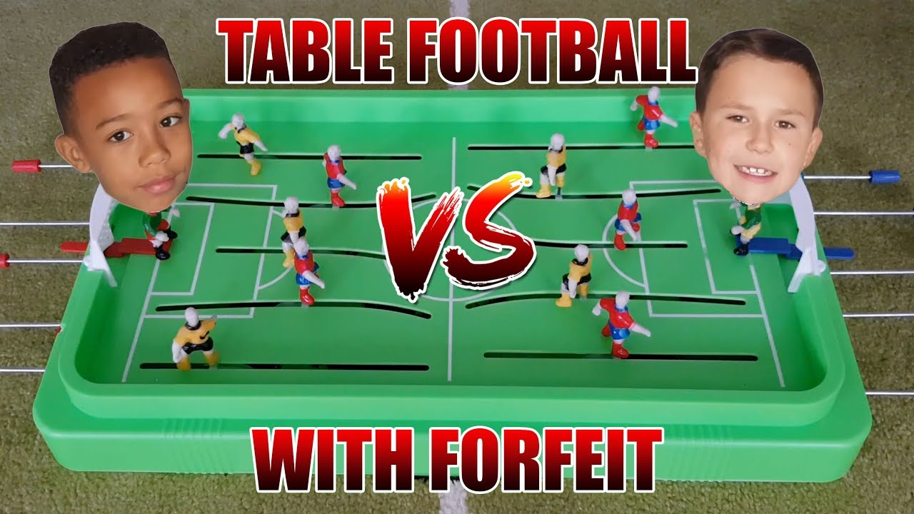 FOOTBALL TABLE FORFEIT CHALLENGE!