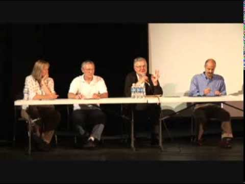 Copper Sulfide Mining Panel July 2008 at Vermilion Community College, Ely, MN
