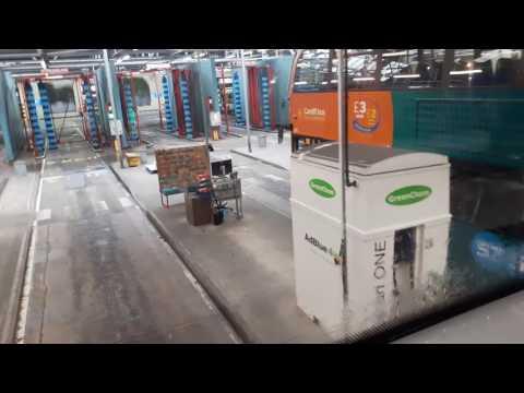 Cardiff Bus Depot Tour 30 October 2016 & Bus Wash!