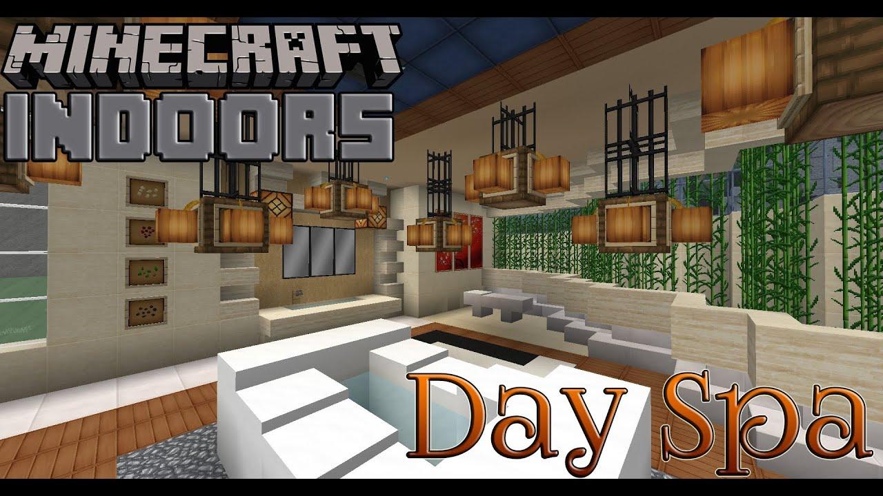 Day Spa Bath House - Minecraft Indoors Interior Design