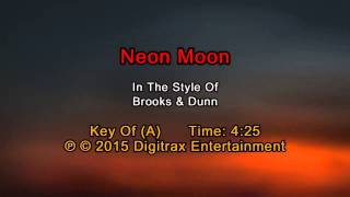 Brooks & Dunn - Neon Moon (Backing Track)