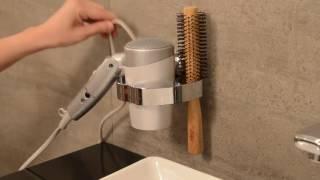 Samurai Hair Dryer Holder