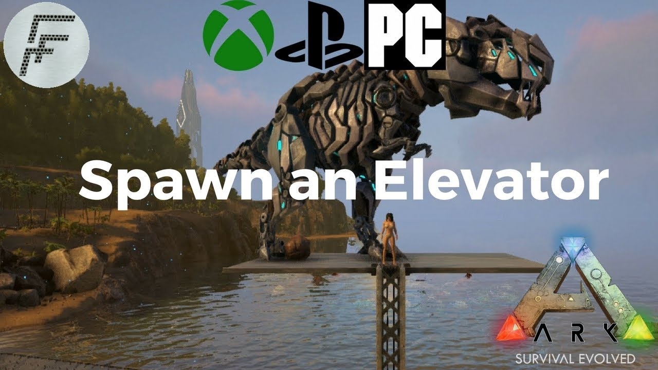 Ark survival evolved how to spawn an elevator youtube ark survival evolved how to spawn an elevator malvernweather Gallery