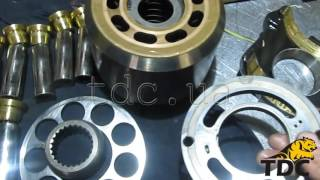 Ремонт гідронасосу екскаватора ATLAS 1704 Linde HPR130 100
