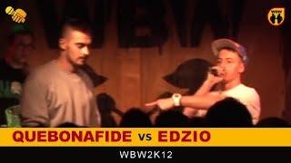 Bitwa: EDZIO vs QUEBONAFIDE [WBW 2012 Freestyle Grand Prix Powiśla]