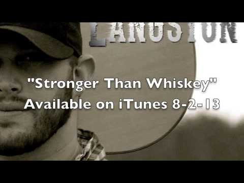 Jon Langston - Stronger Than Whiskey (Official Audio)