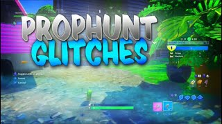 Fortnite Prop Hunt Glitches & Hiding Spots! Prop Hunt Spots In Fortnite - Invisible Godmode Glitches
