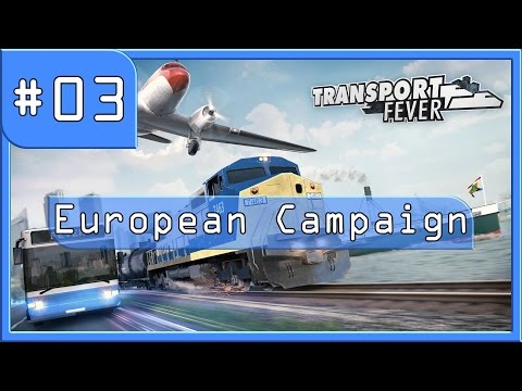 Transport Fever - Let's Build - European campaign mission 1 completed (Switzerland)