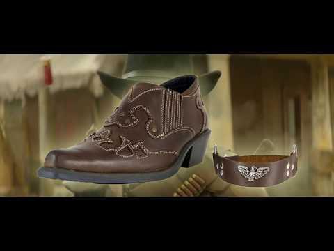 Коричневые туфли Казаки Garant