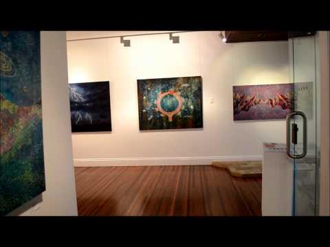 COSMIC ADDRESS Kathryn Brimblecombe Fox Exhibition Brisbane Oct 2013