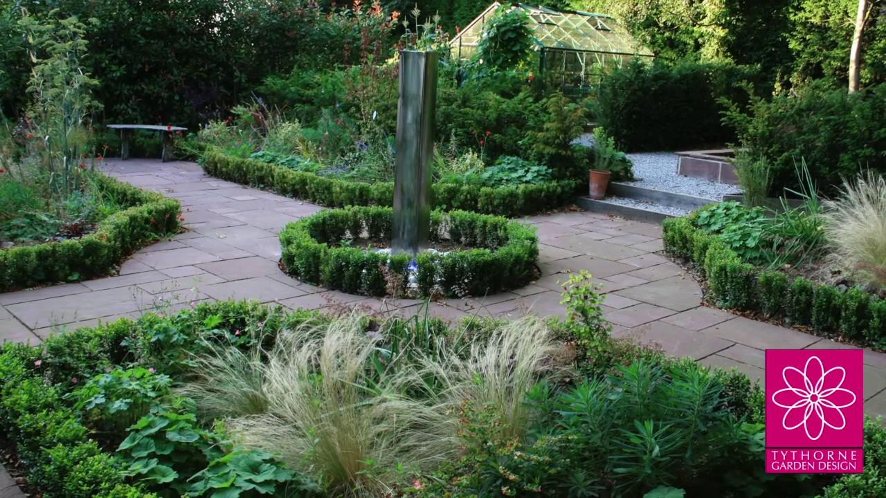 Tythorne Garden Design: Nottingham garden design - YouTube