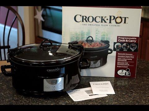 Unboxing Crock Pot 7 Quart Slow Cooker - Bravo Charlie's Episode 29