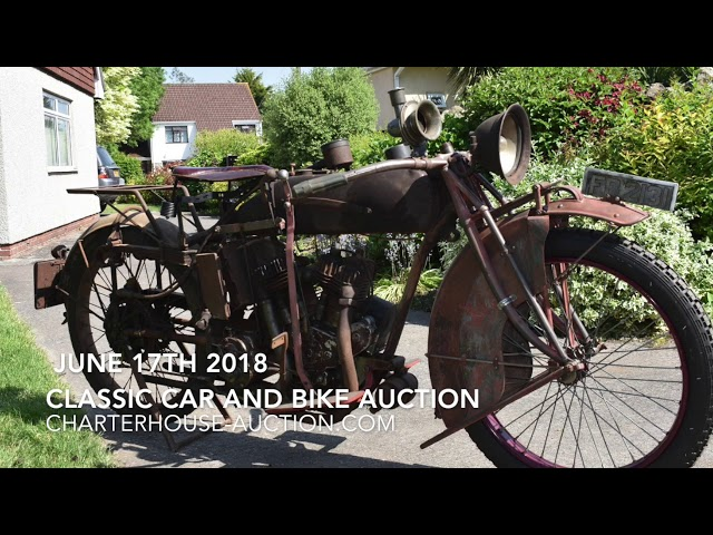 June 2018 Car and Bike Auction Walk and Talk