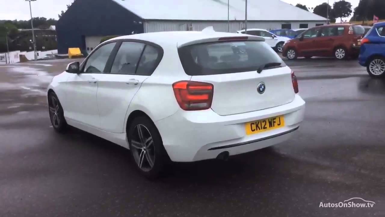 bmw 1 series 116i sport white 2012 youtube. Black Bedroom Furniture Sets. Home Design Ideas